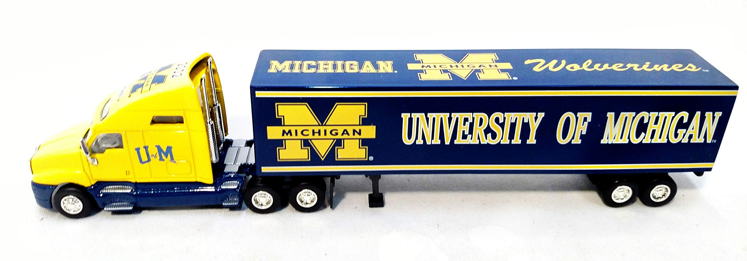 University of Michigan Wolverines 2002 Limited Edition Die Cast Tractor Trailer