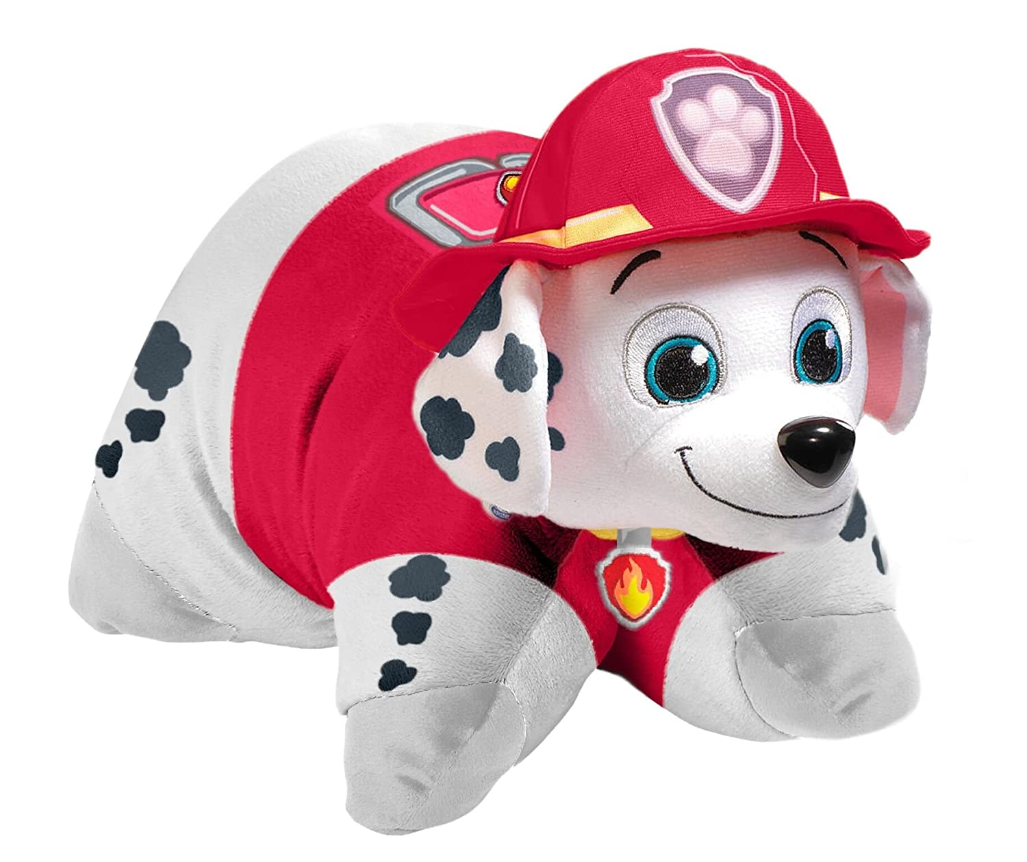 Amazon.com  Pillow Pets Nickelodeon Paw Patrol Marshall Stuffed Animal 16  inch Plush Toy  Home   Kitchen 6b5c1015cde4