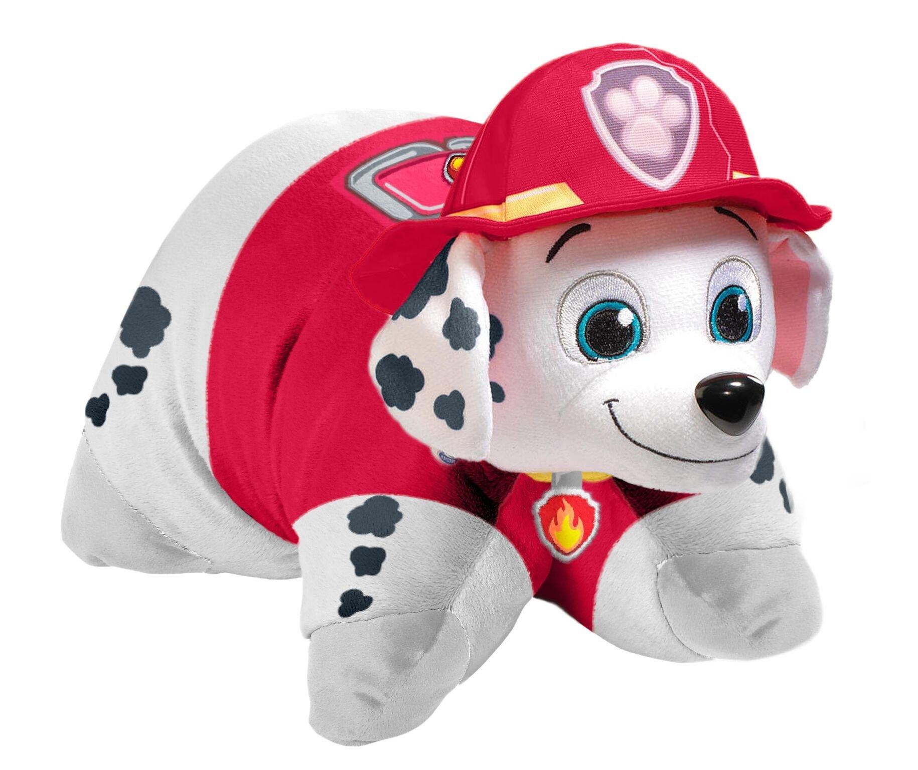 Pillow Pets Nickelodeon Paw Patrol, Marshall Dalmatian, 16'' Stuffed Animal Plush Toy by Pillow Pets