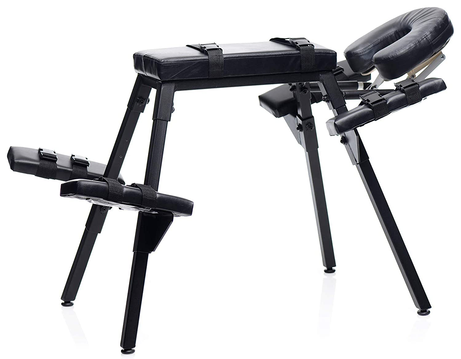 Master Series Obedience Extreme Sex Bench with Restraint Straps