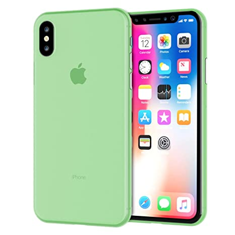 coque verte iphone x