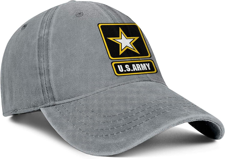 Unisex WomensComfortable Denim Dad Hat Unconstructed United-States-Army-Reserve Fishing Baseball Hat