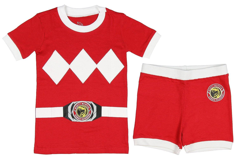 Power Rangers Toddler Character Cotton Pajamas Intimo PR0003SS-T