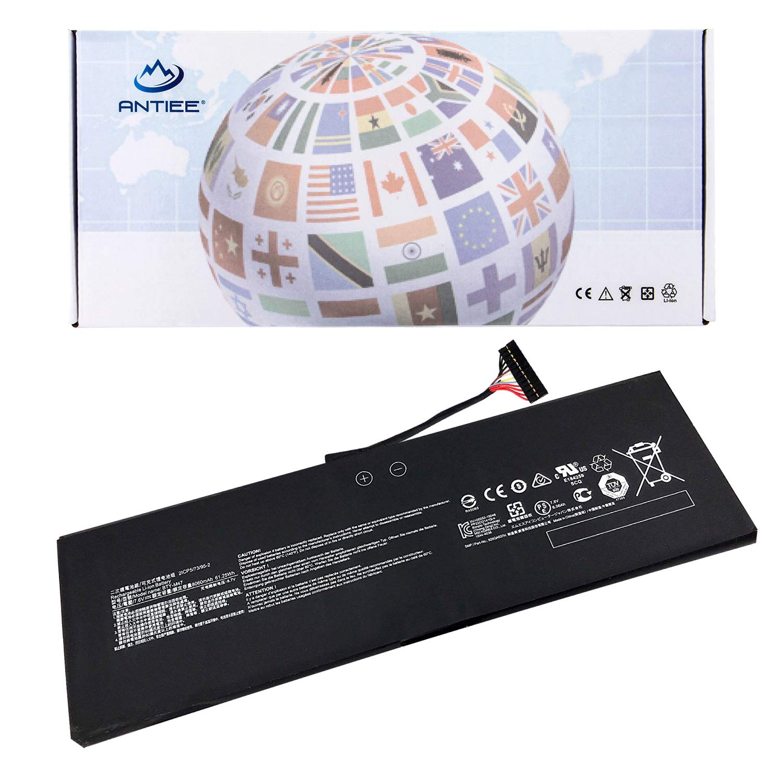 ANTIEE BTY-M47 Bater/ía para MSI GS40 6QE-006XCN 6QE-055XCN GS43 GS43VR 6RE 6RE-045CN Series 2ICP5//73//95-2 61.25Wh 7.6V 8060mAh 4-Cell