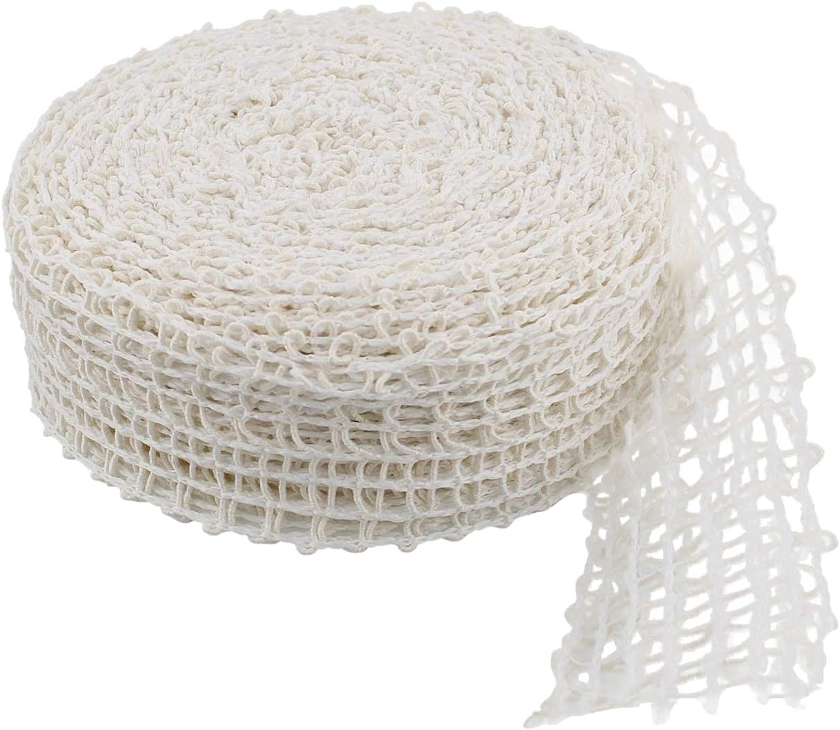 Rural365 Meat Netting Roll, Size 12 - Ham Sock Elastic Netting Meat Butcher Twine Net Meat Netting Roll Meat, 50ft Roll