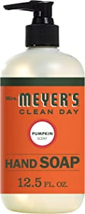 Mrs. Meyer's Clean Day Hand Soap, Pumpkin, 12.5 Ounce