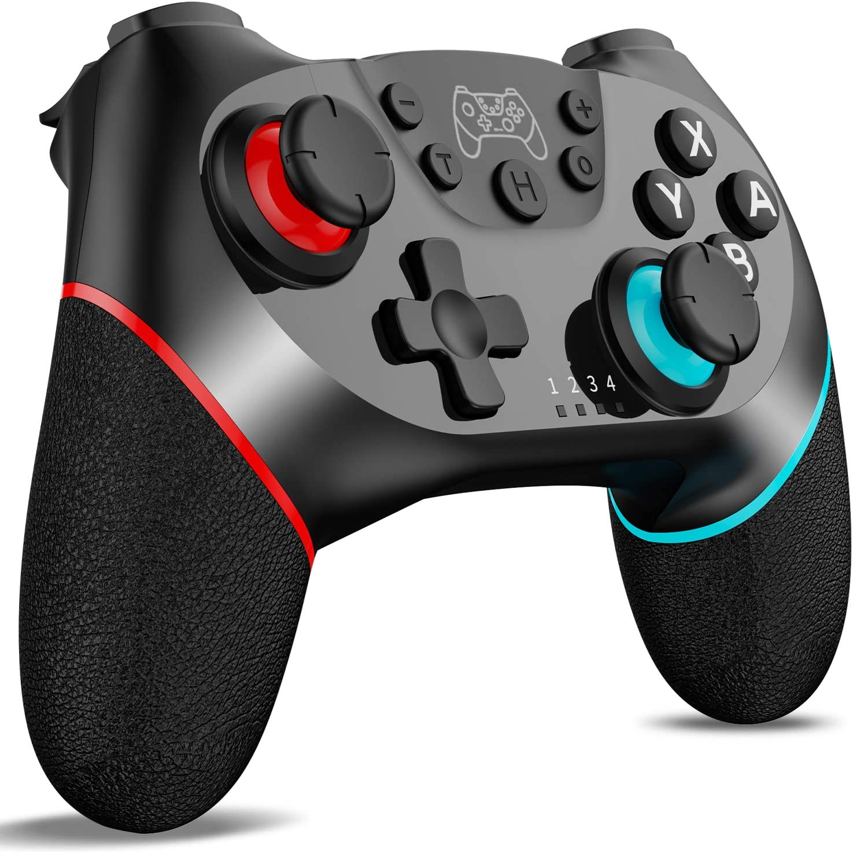 [2020 Upgraded Version] Wireless Switch Pro Controller,KUTIME Nintendo Switch Controller Switch Remote Gamepad Joystick