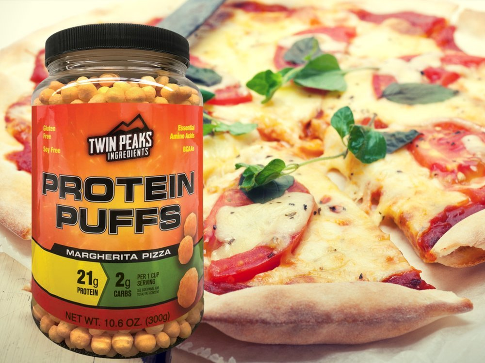 Twin Peaks Ingredients Protein Puffs - Margherita Pizza 300g (10 Servings), 21g Protein, 2g Carbs, 120 Cals, High Protein, Low Carb, Soy Free, Gluten Free, Potato Free - Best Protein Snack by Twin Peaks Ingredients (TPI) (Image #3)