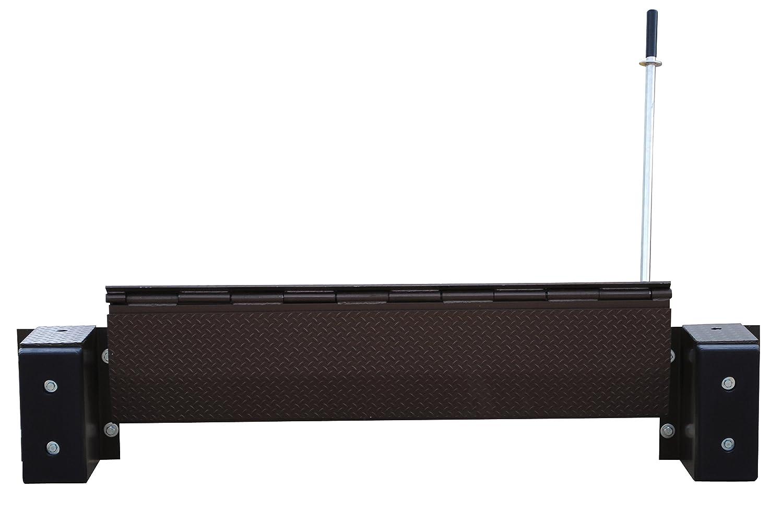 66 Usable Width 20000 lbs Capacity Vestil FM-2066 Mechanical Edge-O-Dockleveler