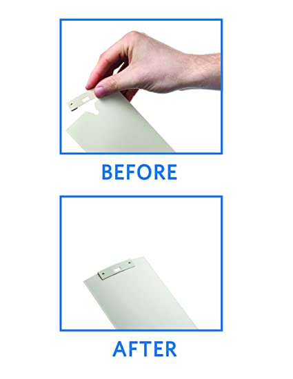 10 Pack Vertical Blind Vane Saver White Curved Repair Clips Fixes Broken