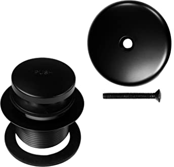Volume Control Valve for Shower Arm Matte Black Westbrass R309-62 1//2 in
