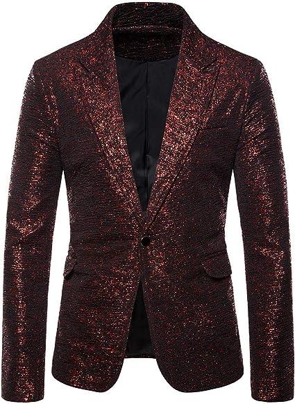 PLENTYTOP Veste De Costume Homme, Blazer Homme Fashion