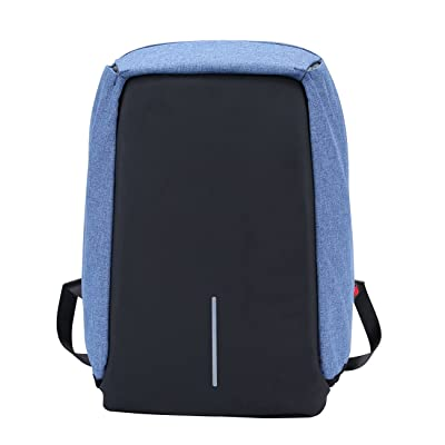 f25a57c01dff Xnbda Waterproof Anti Theft Laptop Backpack With USB Charging Port ...