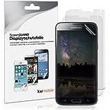 3x kwmobile Folie matt für > Samsung Galaxy S5 / S5 Neo / S5 LTE+ / S5 Duos < Displayschutzfolie - Schutzfolie Anti-Fingerabdruck Displayschutz Displayfolie entspiegelt