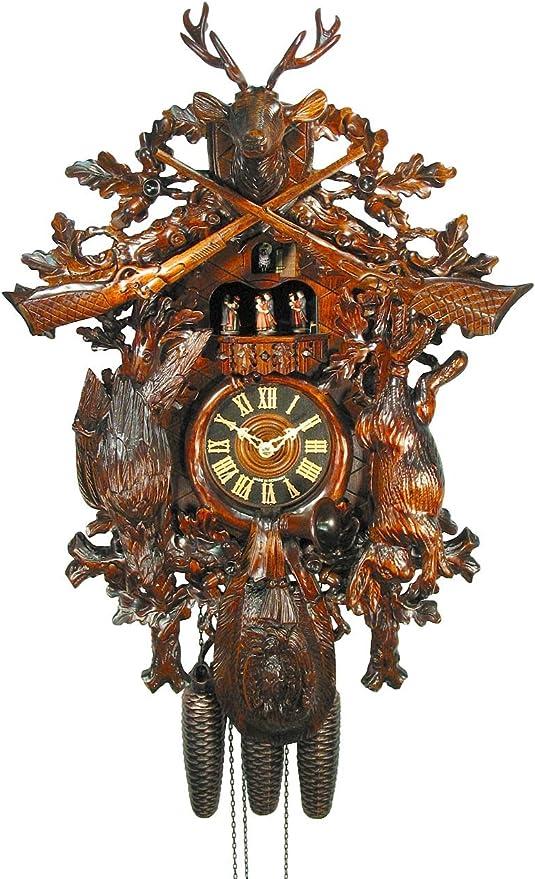 August Schwer Cuckoo Clock Pendulum Hand Carved
