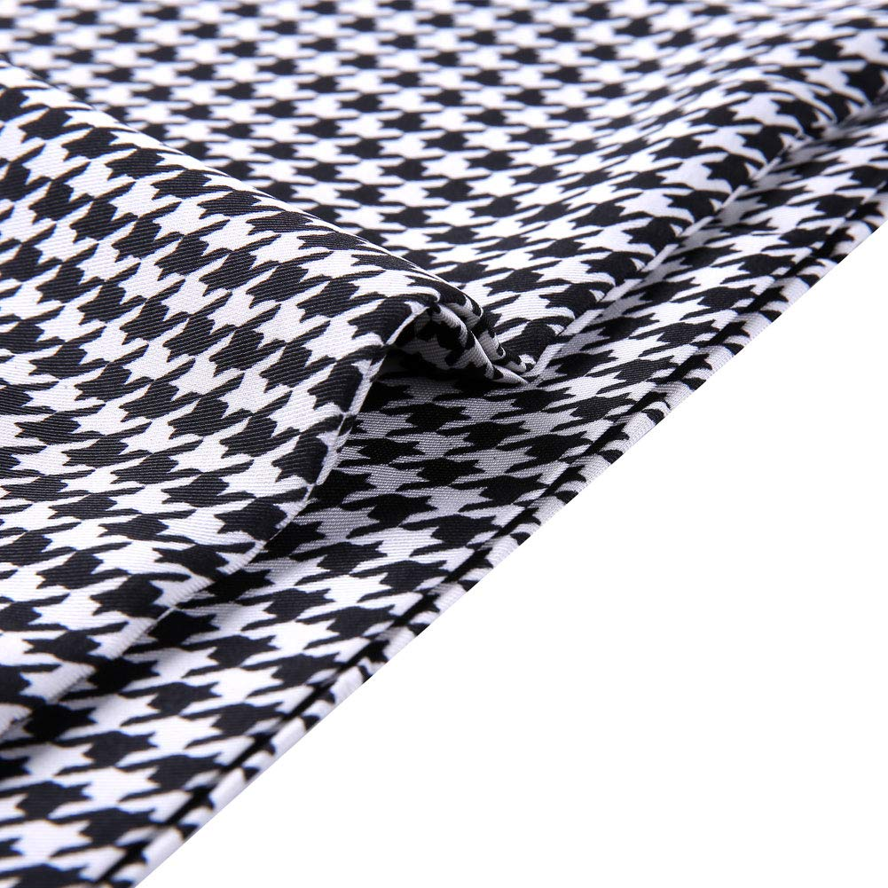 Classic Design for Fashion and Business Occasions Euordu Men Smooth Long Silk Feel Scarf
