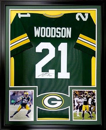 Charles Woodson Framed Jersey Signed JSA COA Autographed Green Bay ...