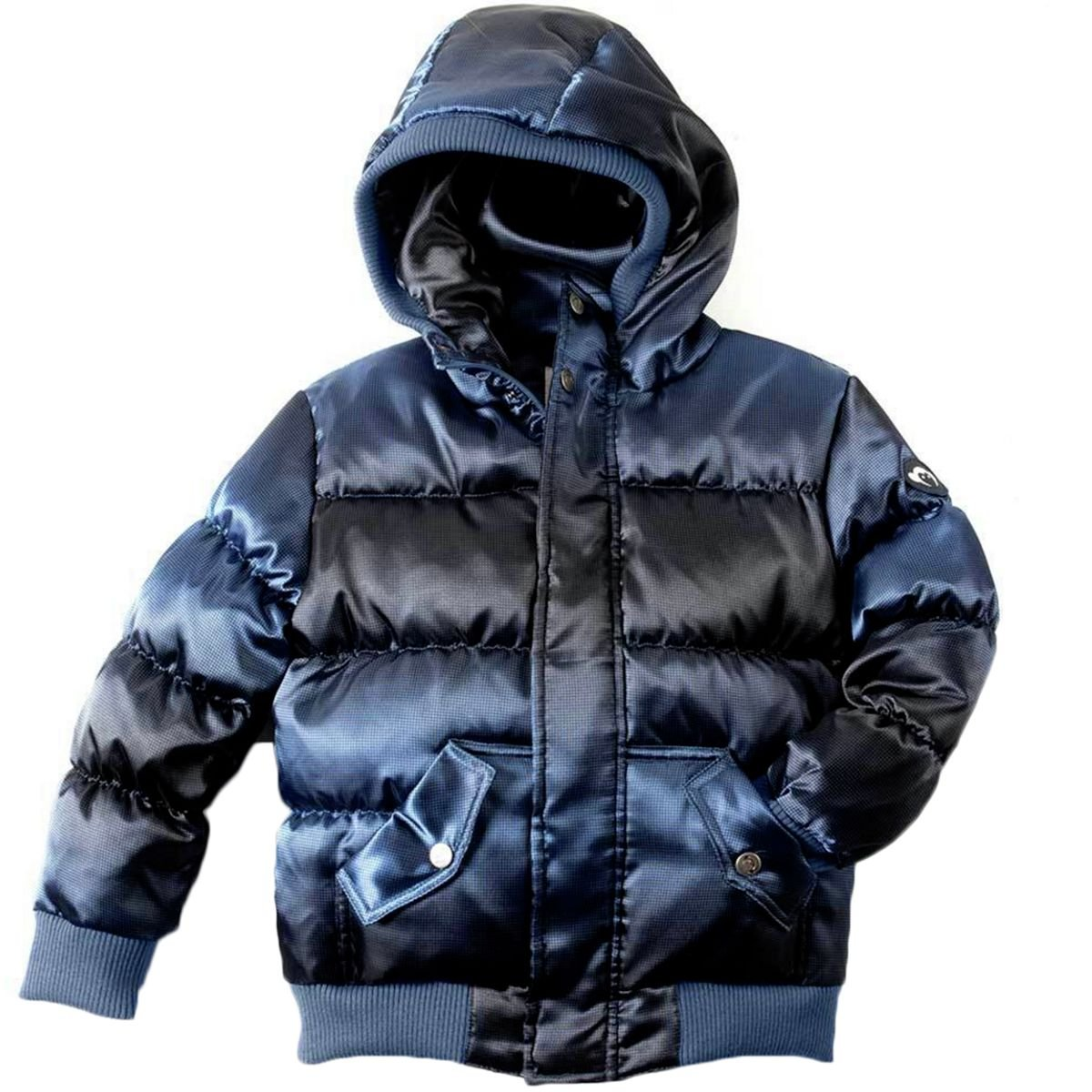 Appaman Toddler Boys' Puffy Coat, Blue Wave, 3T by Appaman
