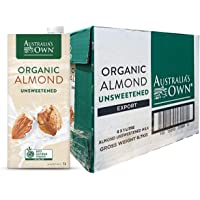 Australia's Own Unsweetened Almond Milk, 1L (Pack of 8)