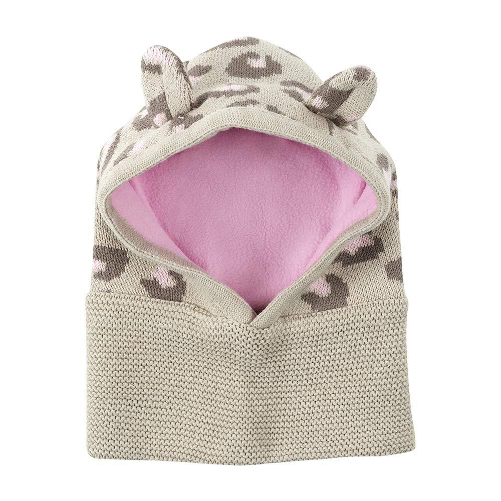 Zoocchini Baby Knit Balaclava Hat Kallie The Kitten 12-24M Beige