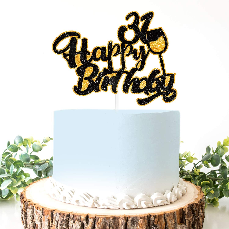 Super Amazon Com Aerzetix Birthday Decoration Happy 31St Birthday Cake Funny Birthday Cards Online Barepcheapnameinfo