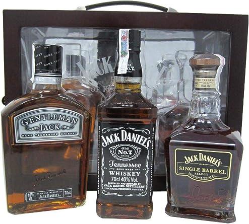 Jack Daniels - Single Barrel + Old No. 7 + Gentleman Jack Gift ...