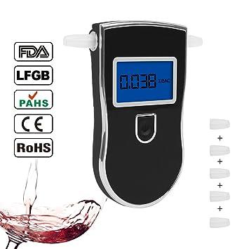 Amazon Com Fannel Portable Breath Alcohol Tester Professional