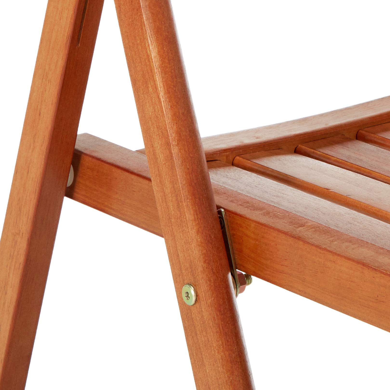 Winsome Wood 33415 Robin 4-PC Folding Set Teak Chair, by Winsome Wood (Image #4)