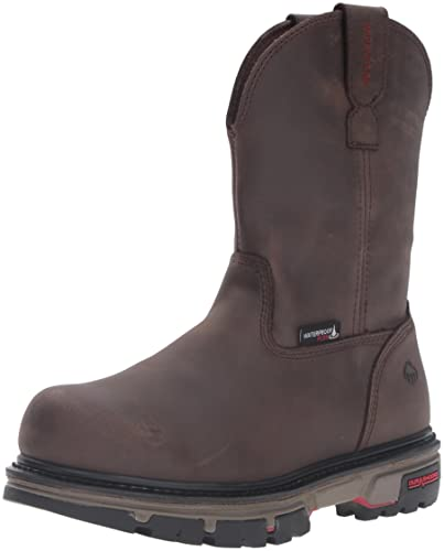 09bdb1d1958 Wolverine Men's Nation Waterproof Soft Toe Pull-on Work Shoe