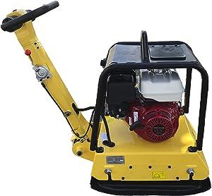 CORMAC C170RH Hydraulic Reversible plate compactor, gasoline engine GX270 @ 9 Hp. Unit weight 375 Lb