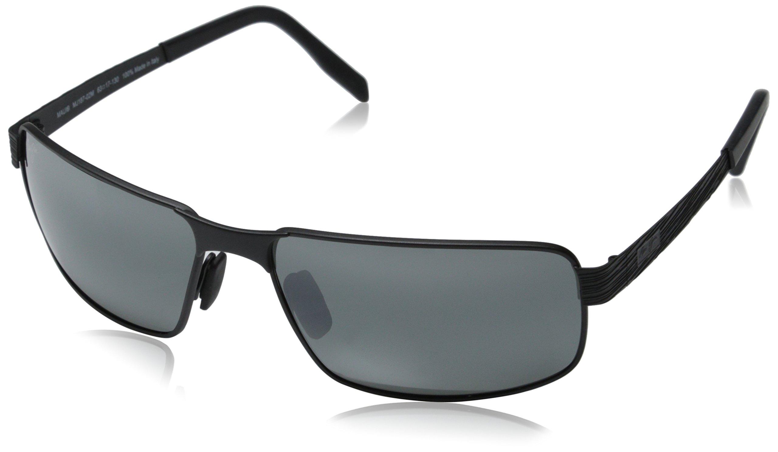 Maui Jim Castaway Sunglasses, Matte Black / Neutral Grey