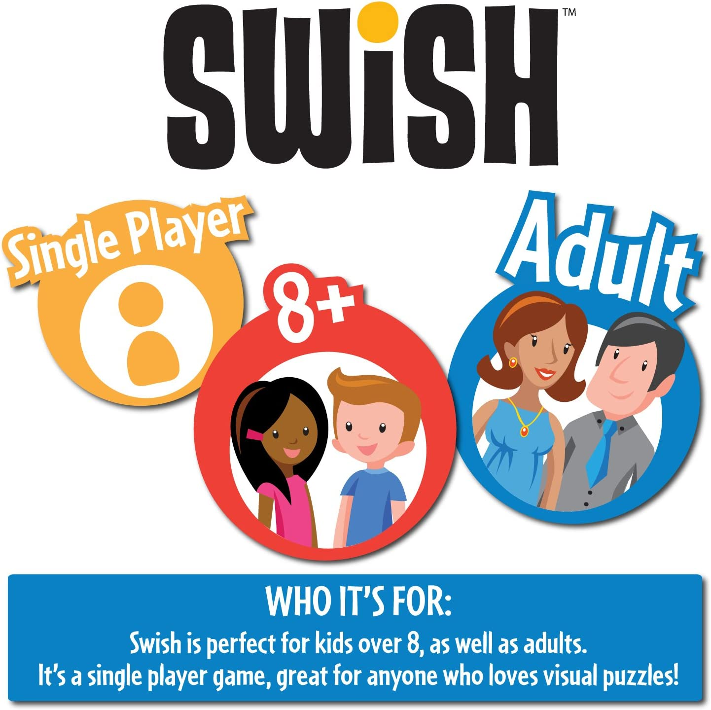 Think Fun - Swish, juego de mesa (TF1512) , color/modelo surtido: Think Fun Swish: Amazon.es: Juguetes y juegos