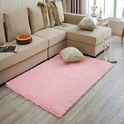 Buy Generic Blue, S : Soft Carpets Shaggy Area Rug Slip Resistant ...