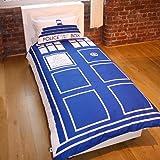 Doctor Who Tardis Single/US Twin Duvet and Pillowcase Set