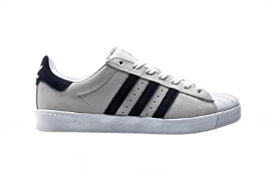finest selection b77ef 19737 Image Unavailable. Image not available for. Colour  adidas Skateboarding  Superstar Vulc ADV, crystal white-collegiate navy-ftwr white