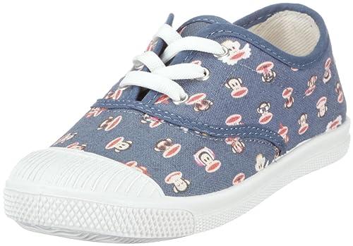 Paul Frank Springfield print navy PFL0212B - Zapatillas de lona para niños, color azul, talla 29: Amazon.es: Zapatos y complementos