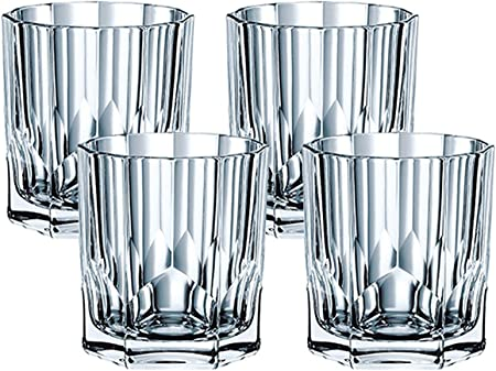 Amazon Com Nachtmann Aspen Whisky Glass Set Of 4 Carafes Pitchers