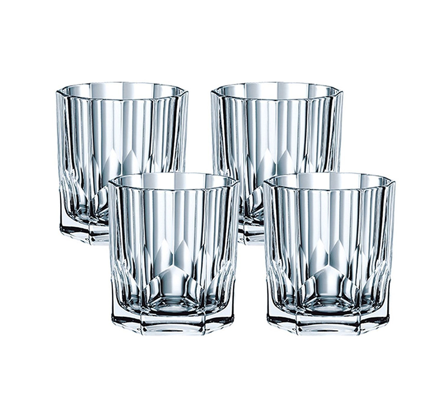 Nachtmann Aspen Decanter and Whiskey Tumbler 7 Piece Set 90025