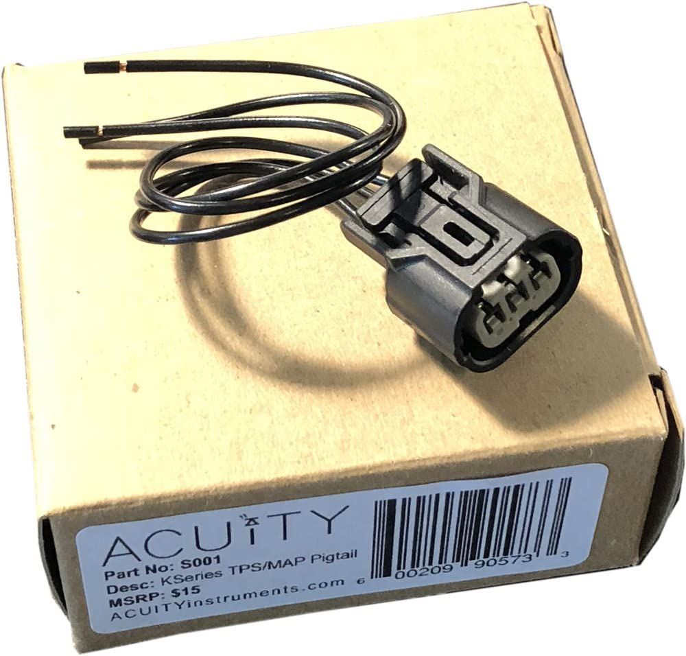 K-Series Honda//Acura ACUITY S001 Replacement TPS /& MAP plug