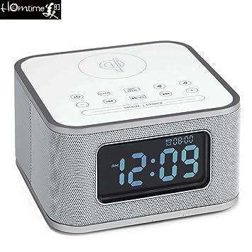Homtime s1-qi clásica multifunción Bluetooth despertador ...