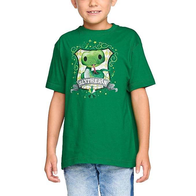 Camiseta Harry Potter para Niños Chibi Luna Lovegood Bosque Elfo Cotton Black: Amazon.es: Ropa y accesorios