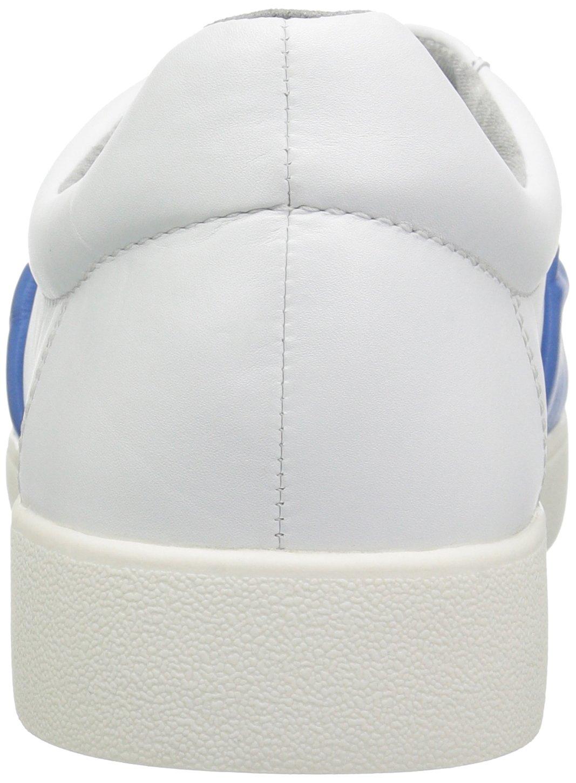 Nine West Women's Pindiviah Leather Sneaker Leather B071FTMTQK 8 B(M) US|White/Blue Leather Sneaker aa76f4