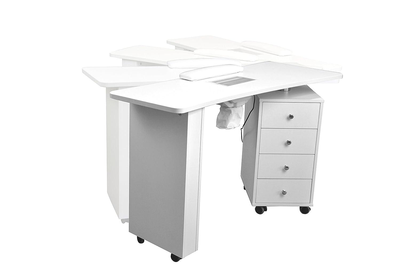Tavolo Da Lavoro Per Estetista : Polironeshop sparta tavolo postazione per manicure ricostruzione