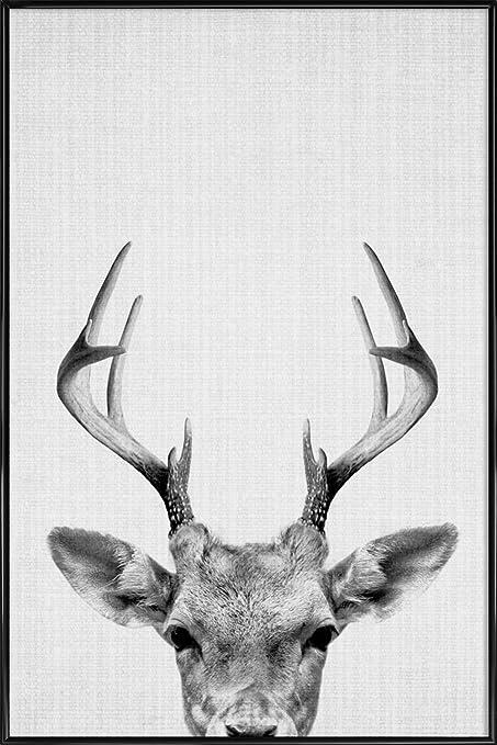 Juniqe pictures with frames 20x30cm black print 38quot