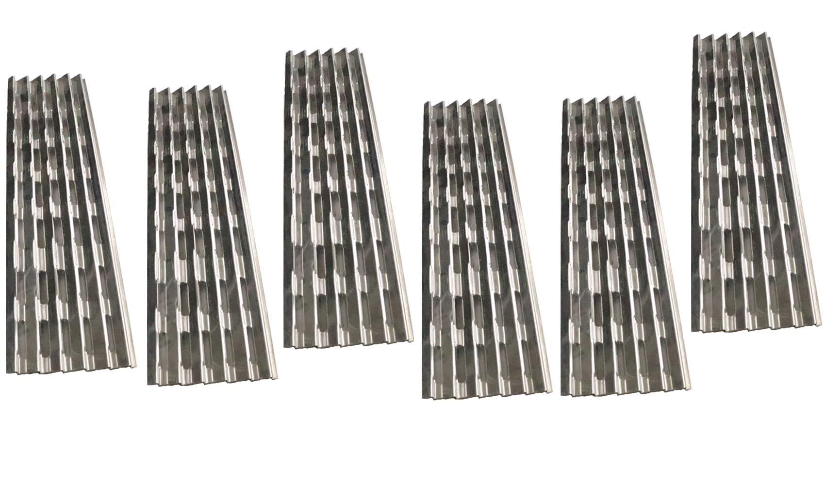 Votenli S9409A (6-Pack) Stainless Steel Heat Plate Replacement for Viking VGIQ300-2RT, VGIQ410-3RT, VGIQ412-2RT, VGIQ530-4RT, VGIQ532-3RT by Votenli