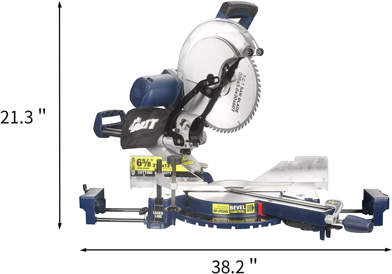 DOIT 12-Inch Dual-Bevel best Sliding Compound Miter Saw