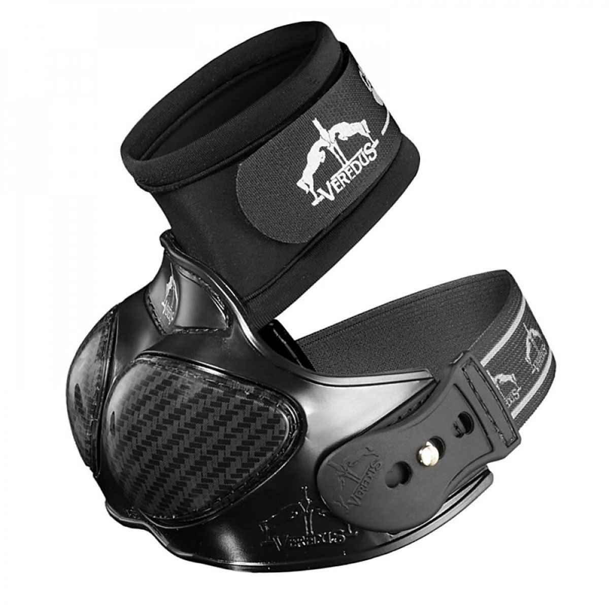 Veredus - Carbon Heel Shield - Horse Boots - Made in Italy - Black