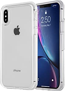 BARICY Ongoing Clear Series Case – Premium Shockproof Phone Case Compatible with iPhone Xs Case and iPhone X Case –PC and TPU Hybrid Design-iPhone Xs Case (iPhone X/XS, Clear)