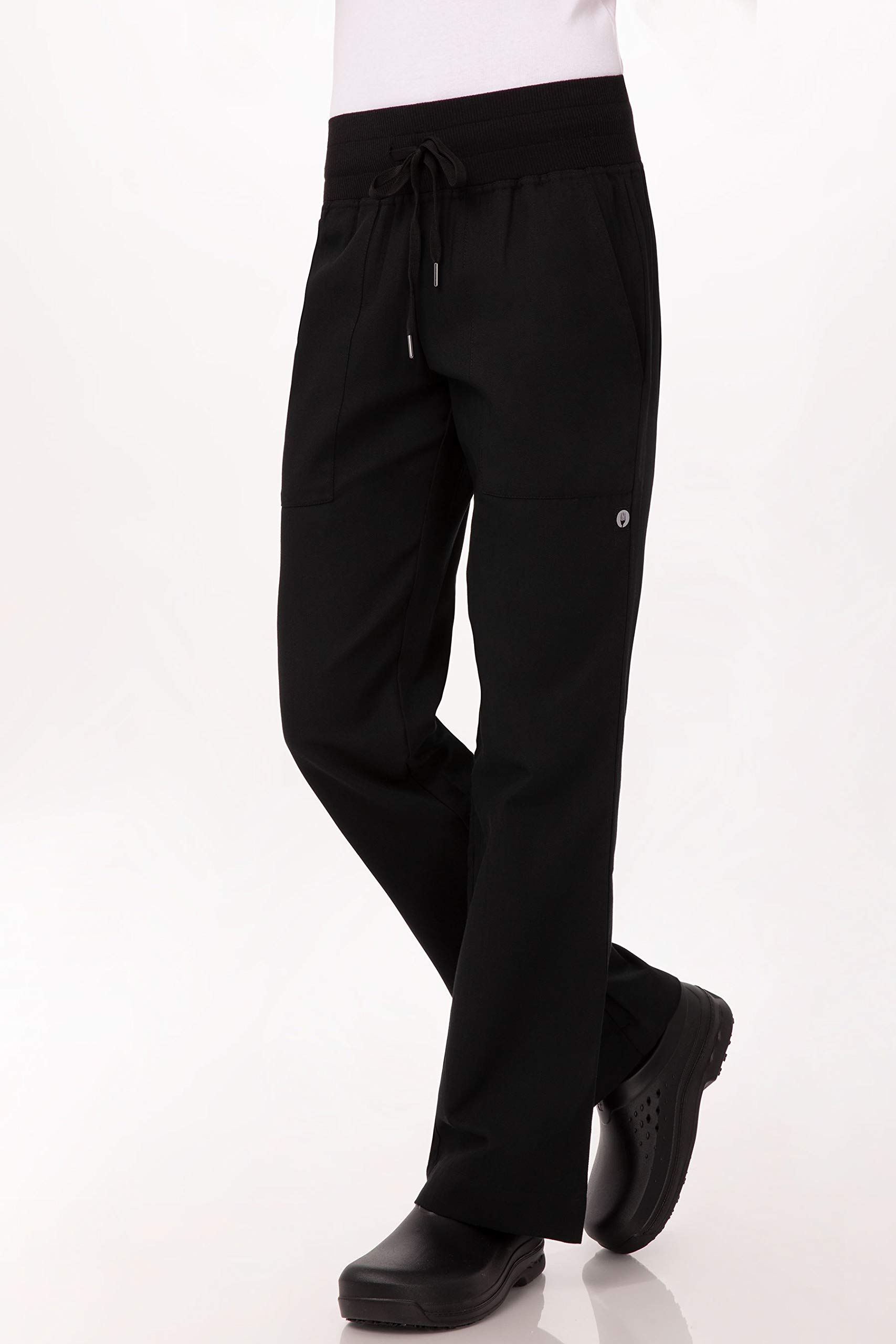 Chef Works Women's Comfi Chef Pants, Black, 2X-Large by Chef Works