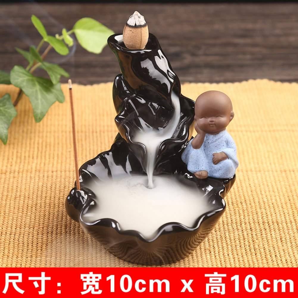 Beautiful Back Incense Burner Household Use Aroma Stove Ceramics Creative Decoration Bedroom Eaglewood Sweet-N Excellent